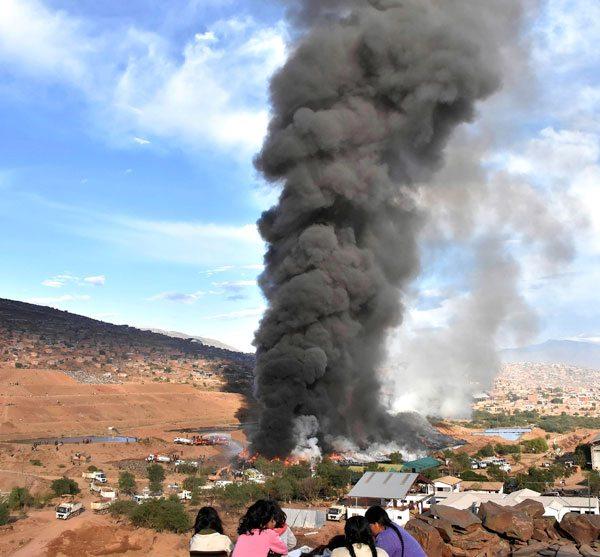 Resultat d'imatges de fotos contaminacio particules