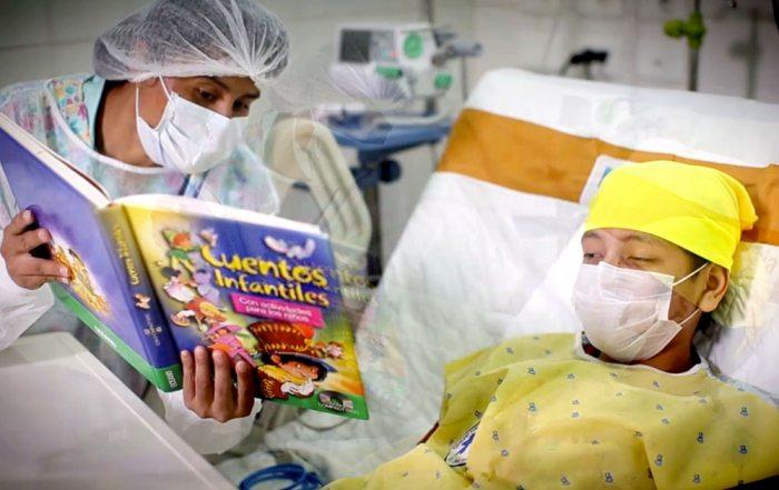 Resultado de imagen para oncologico de santa cruz, pacientes