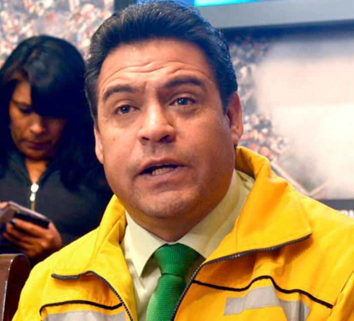 ALCALDE DE LA PAZ, LUIS REVILLA.