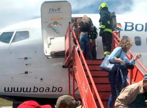Ayer otra nave defectuosa provocó gritos en vuelo 614  BoA registró 28 incidentes en los últimos tres años